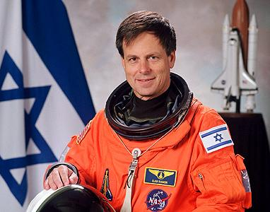 The First Israeli in Space